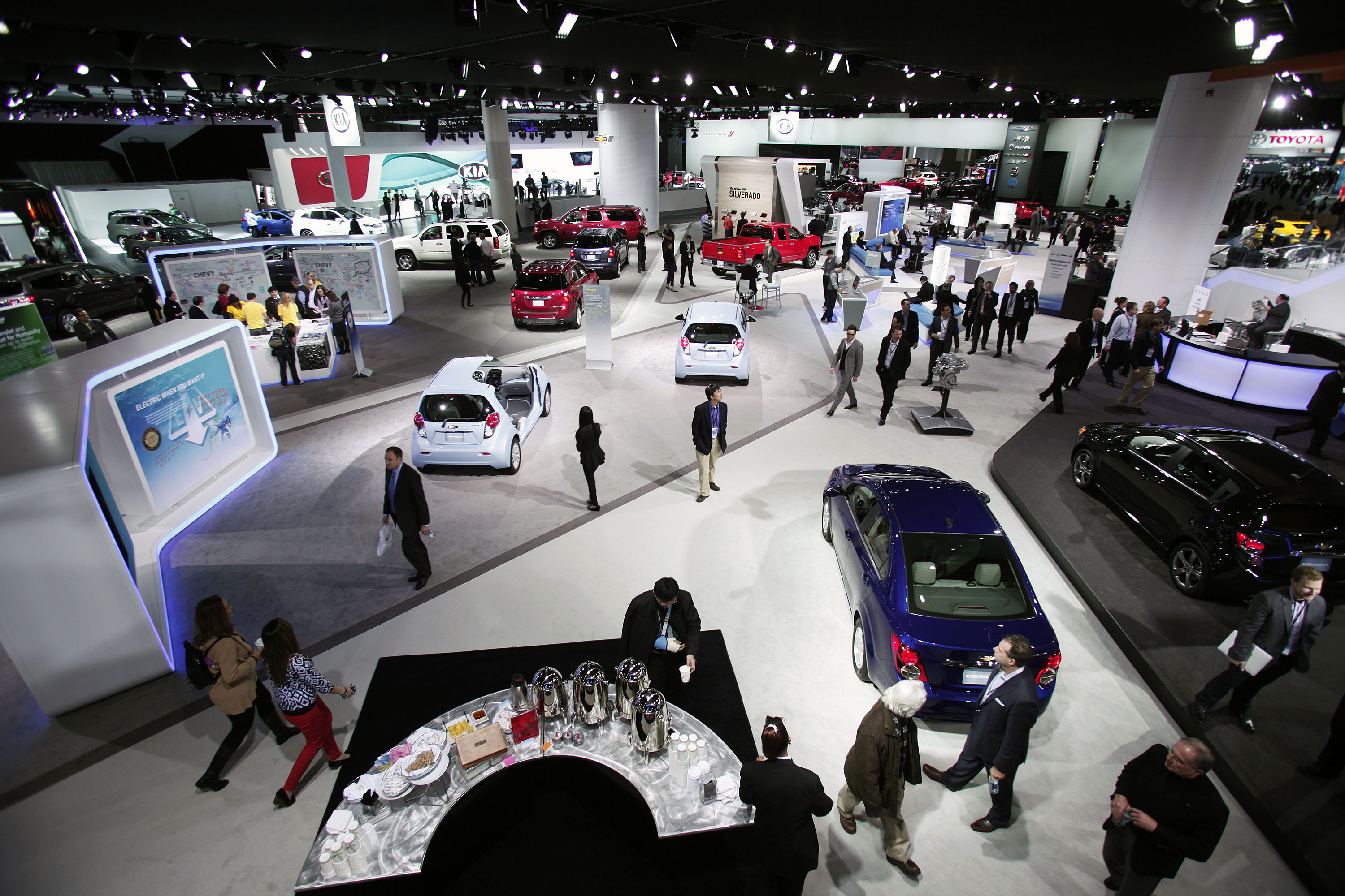 North American Auto Group >> North American International Auto Show Held In Detroit Cal
